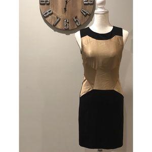 Ted Baker Anita Dress black and gold